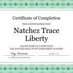 The Natchez Trace Puppy Enrichment Academy