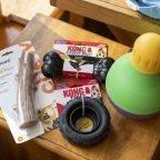 Three New Chew Toys